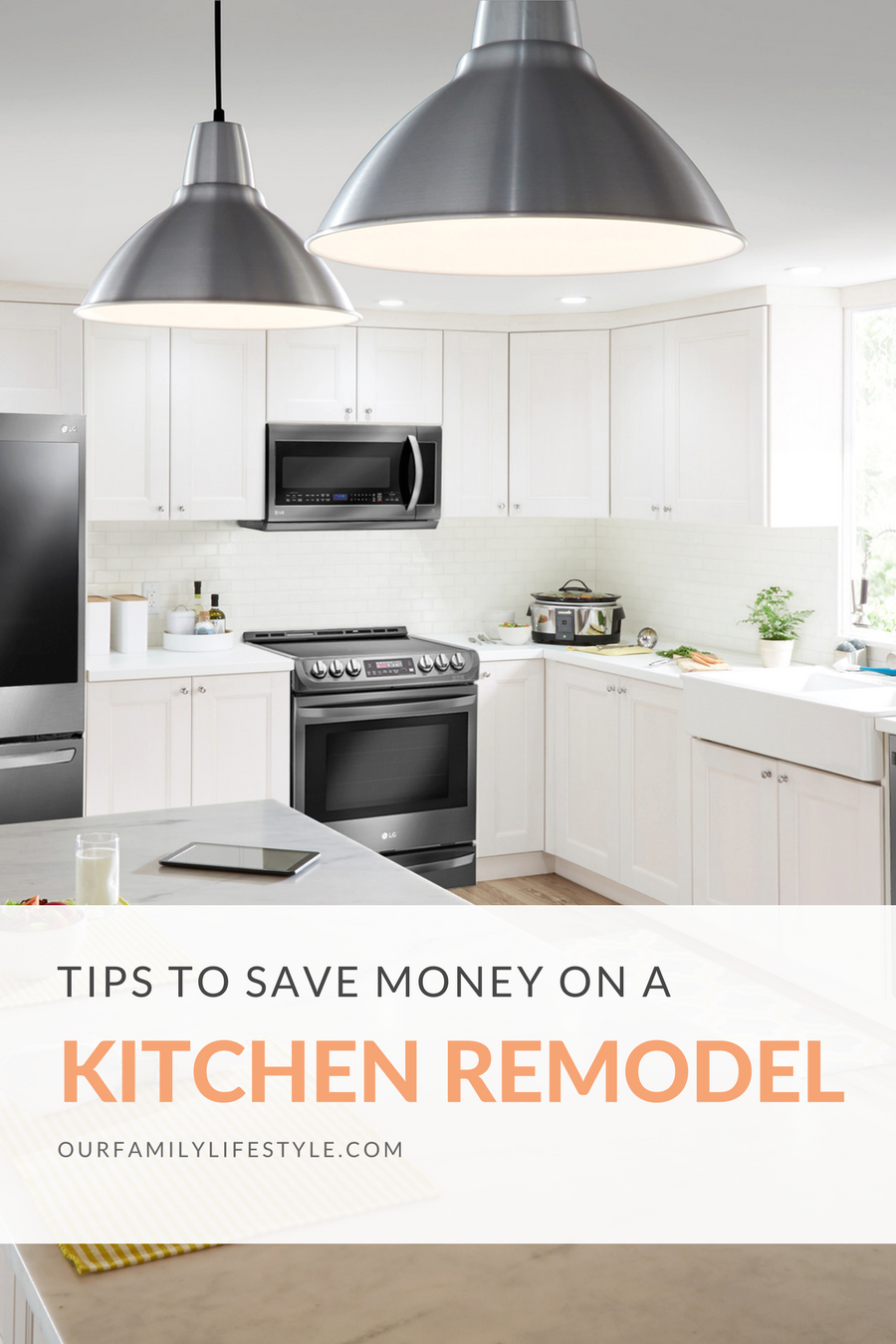 Tips to Save Money on a Kitchen Remodel