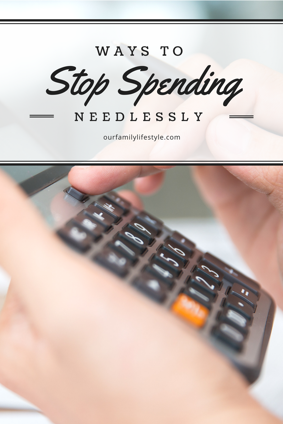 Ways to Stop Spending Needlessly