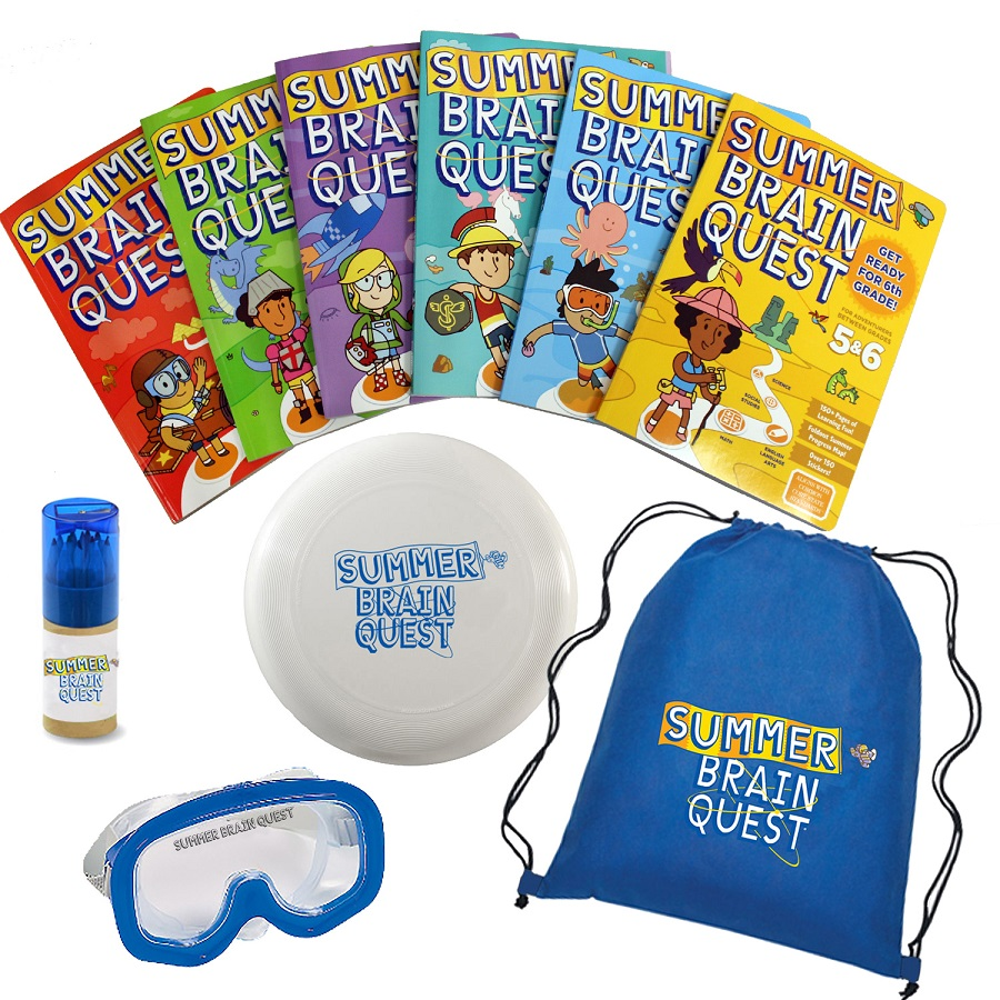 Summer Brain Quest prize package