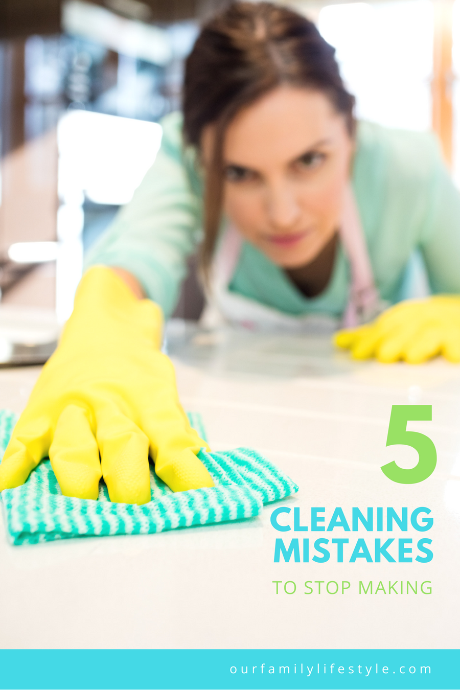5 Cleaning Mistakes to Stop Making