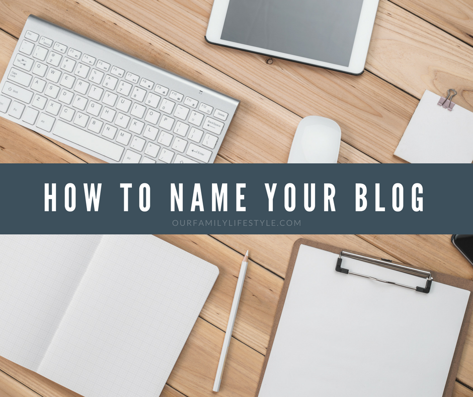 how to name your blog
