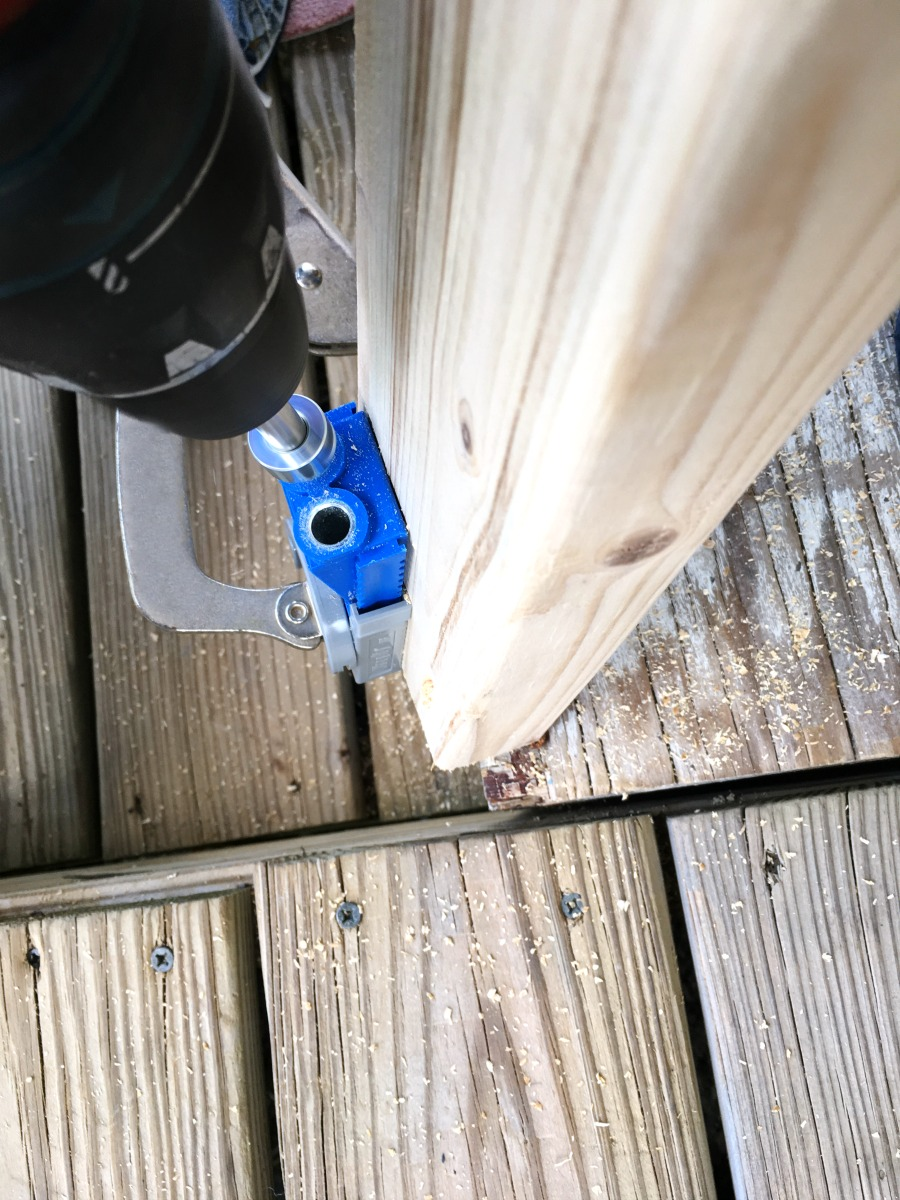 Kreg Jig pocket screw system