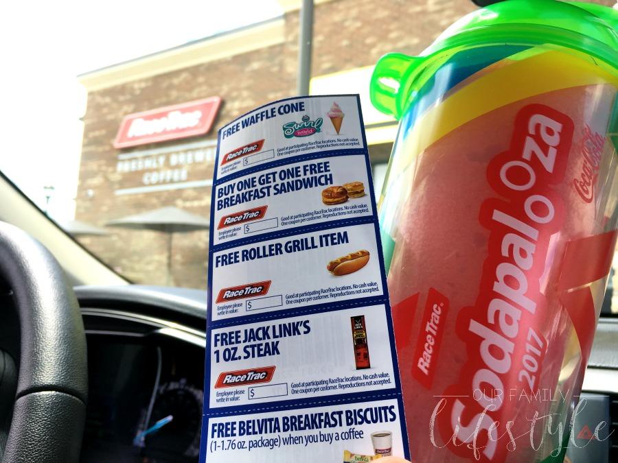 RaceTrac Sodapalooza coupons
