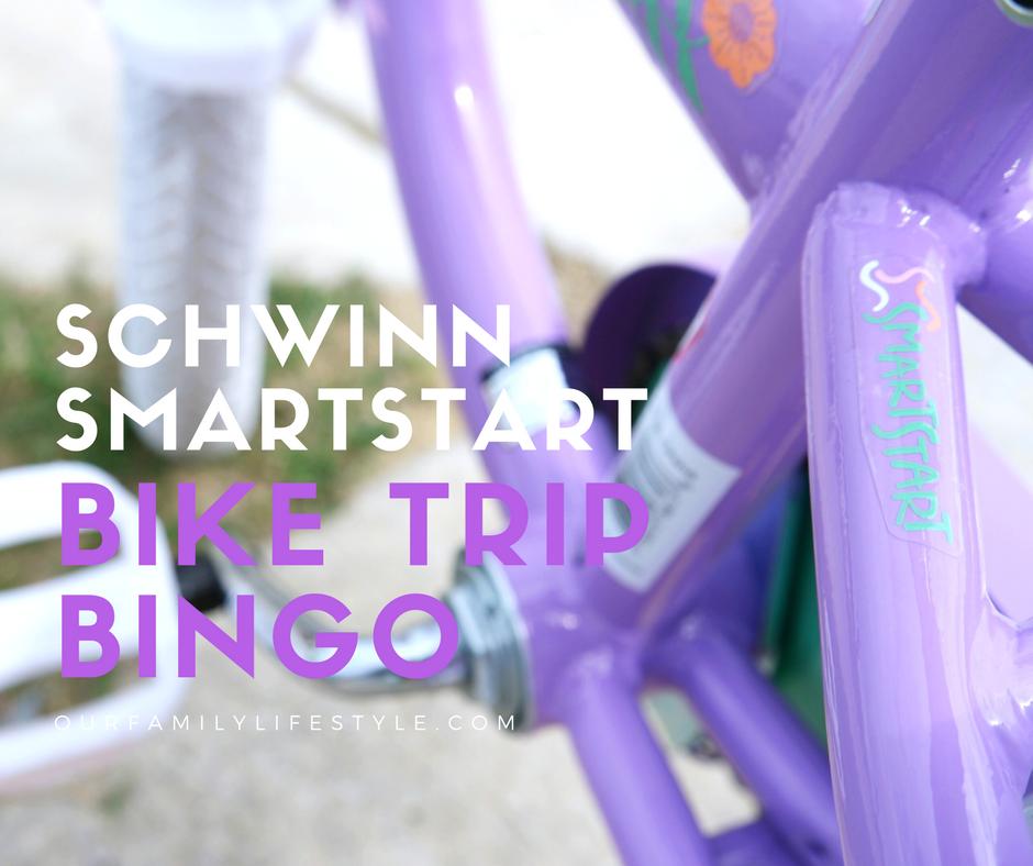 Turn an Ordinary Bicycle Ride Into Schwinn SmartStart Bike Trip Bingo