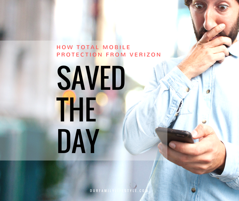 How Total Mobile Protection from Verizon Saved the Day