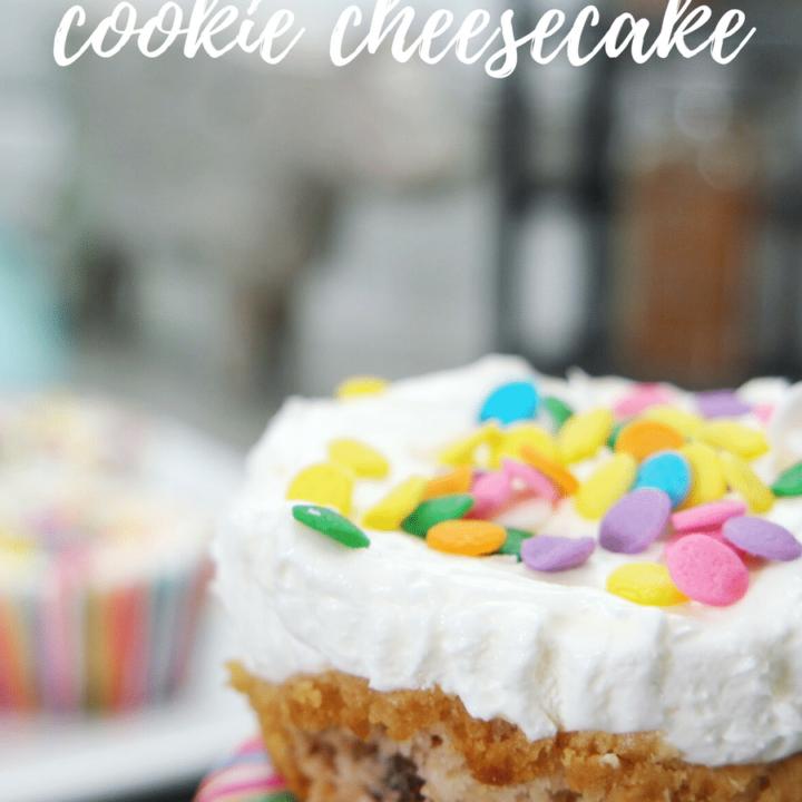 Mini No-Bake Cookie Cheesecake Recipe