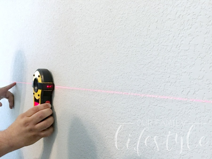 laser wall stud finder