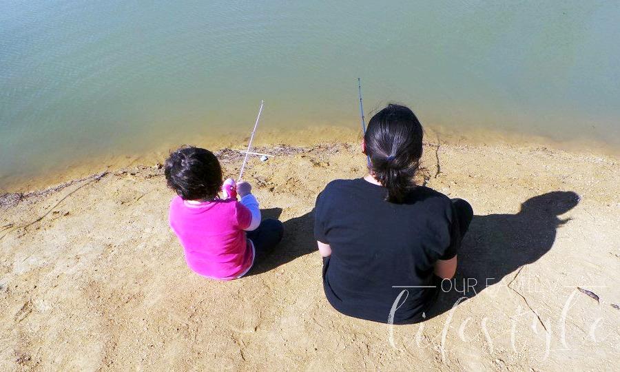 take your kids fishing