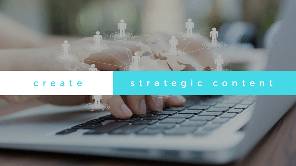 create strategic content