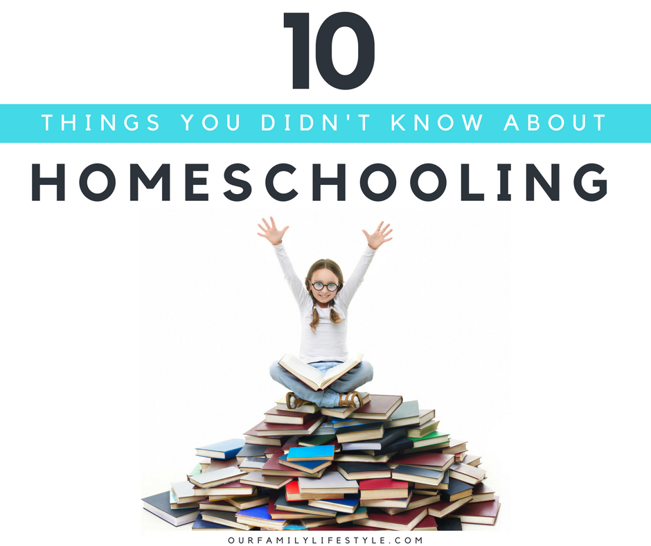 10 Things You Didn't Know About Homeschooling