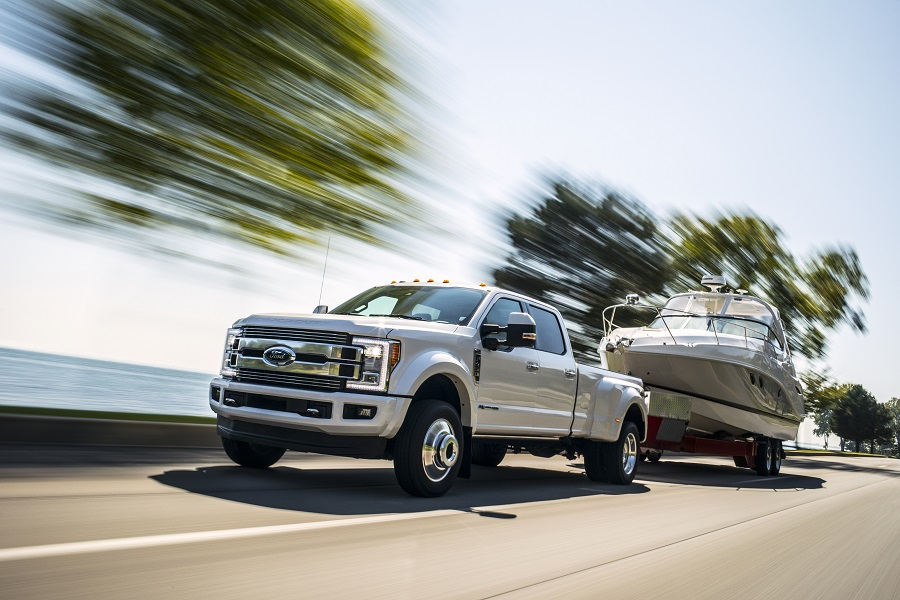 2018 Ford SuperDuty Limited - best in class towing