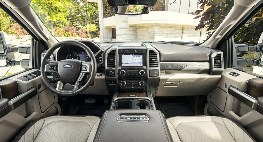 2018 Ford SuperDuty-Limited interior
