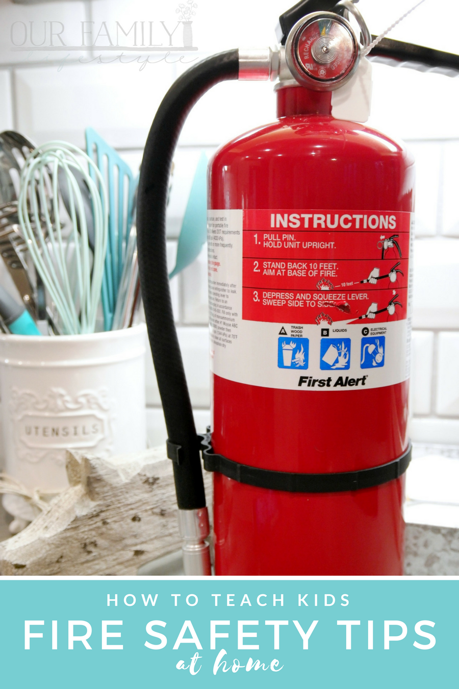 How to Teach Kids Fire Safety Tips at Home
