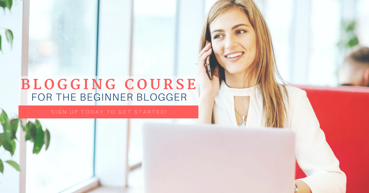So You Want to Blog eCourse
