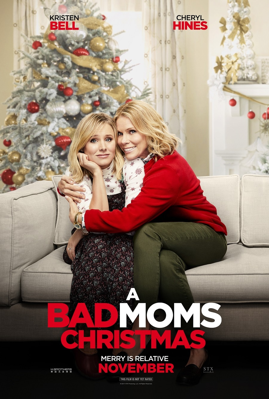 Bad Moms Christmas - Cheryl Hines and Kristen Bell