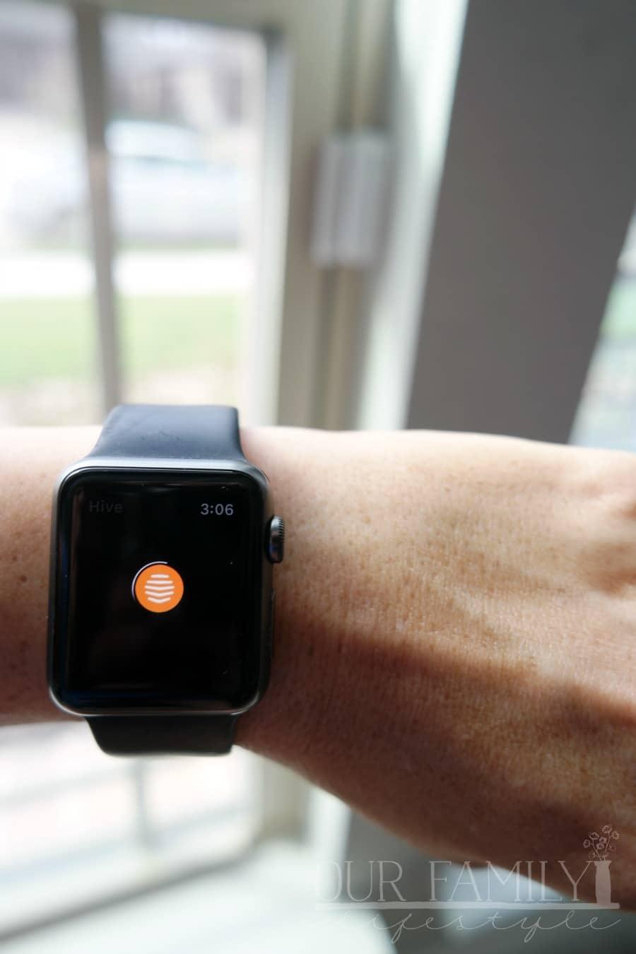 Hive Apple Watch App
