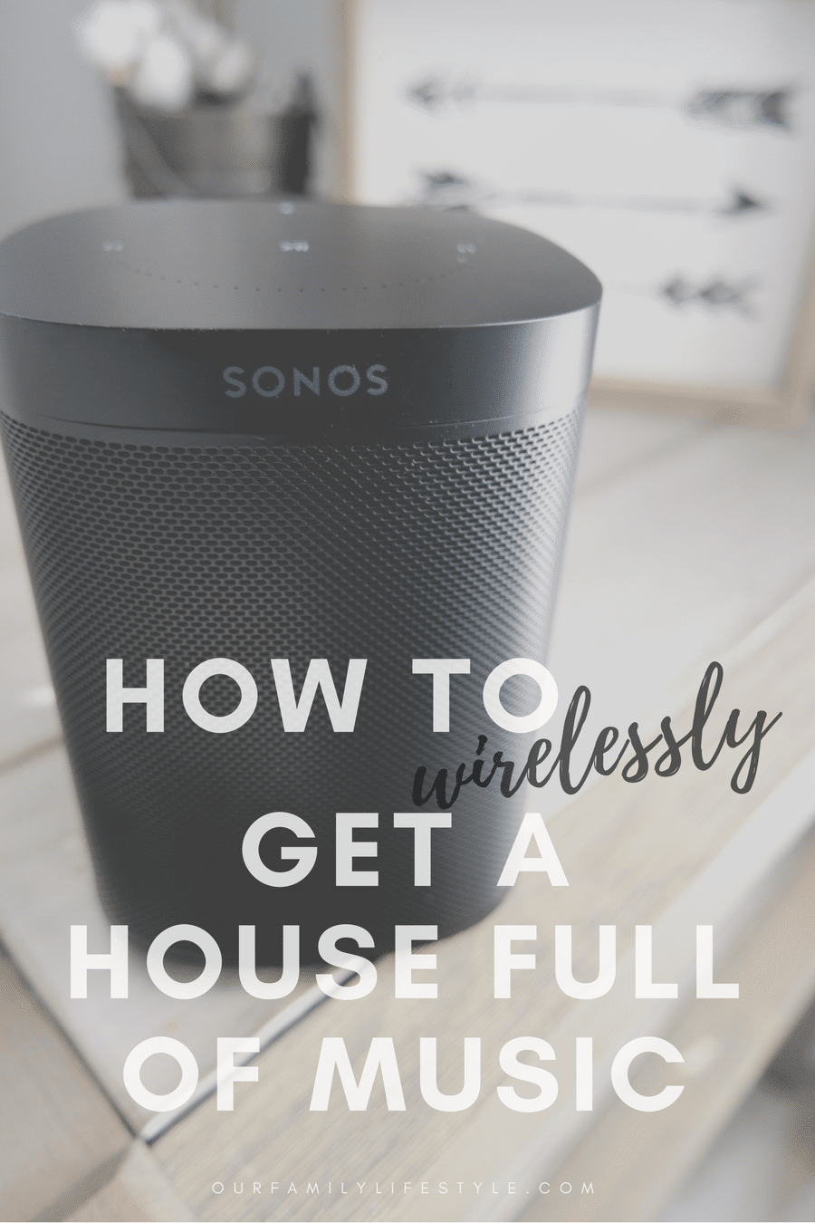 If you've been looking for a way to wirelessly get a house full of music, you can achieve it effortlessly with Sonos One available at Best Buy.
