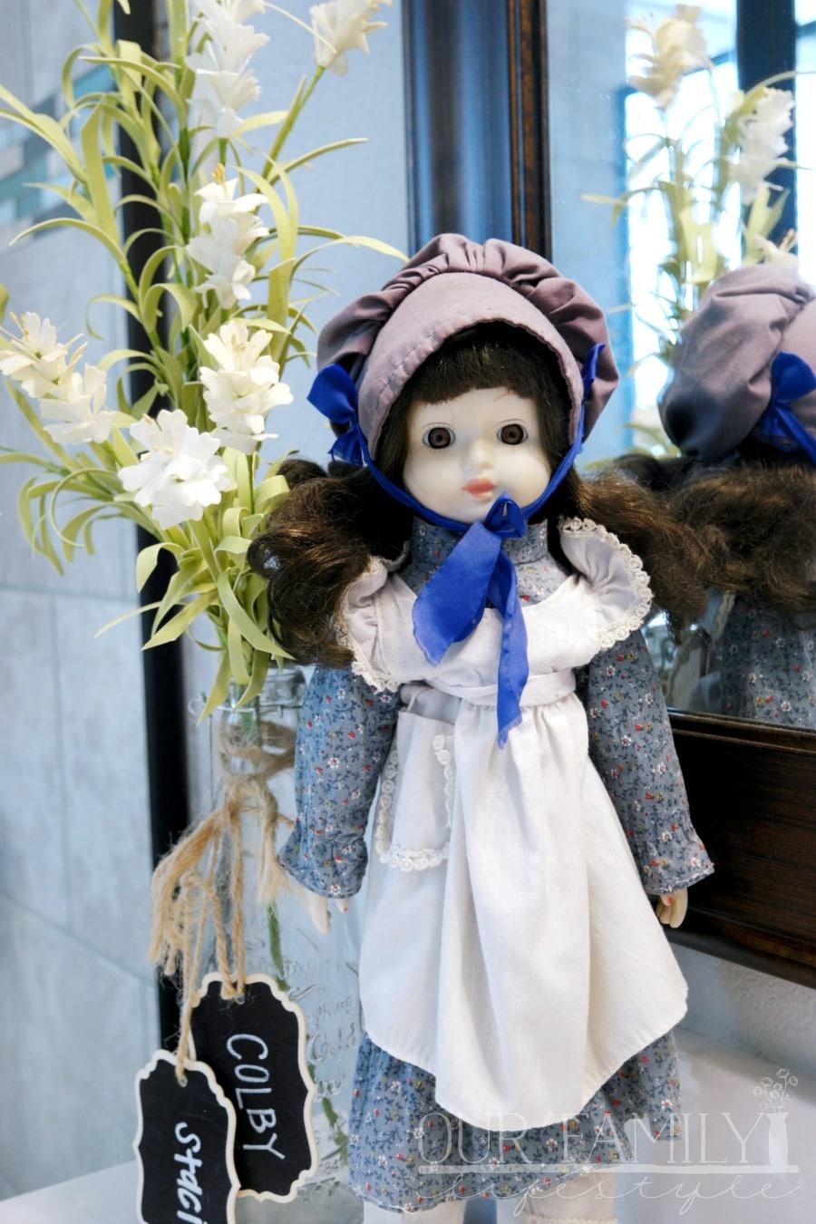Jenni - porcelain doll