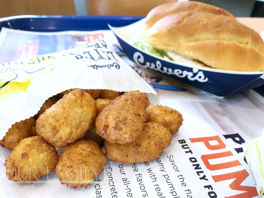 What are Wisconsin Cheese Curds at Culver's?