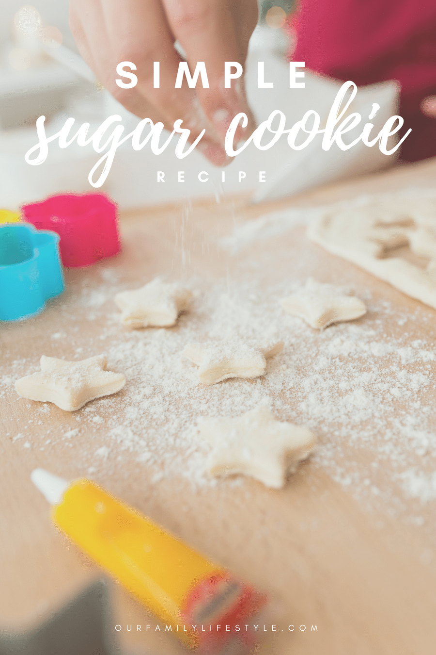 Give this simple sugar cookie recipe a try this holiday season!