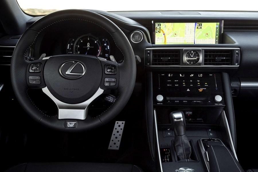 2017 Lexus IS 350 F Sport Lexus Display Audio (LDA)