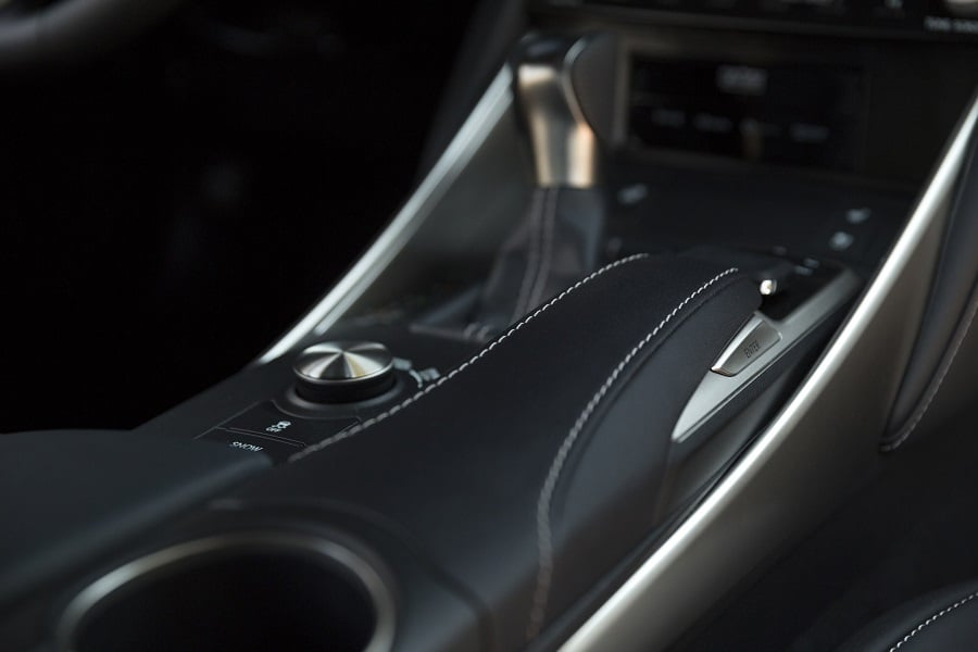 2017 Lexus IS 350 F Sport NuLuxe trimmed seating