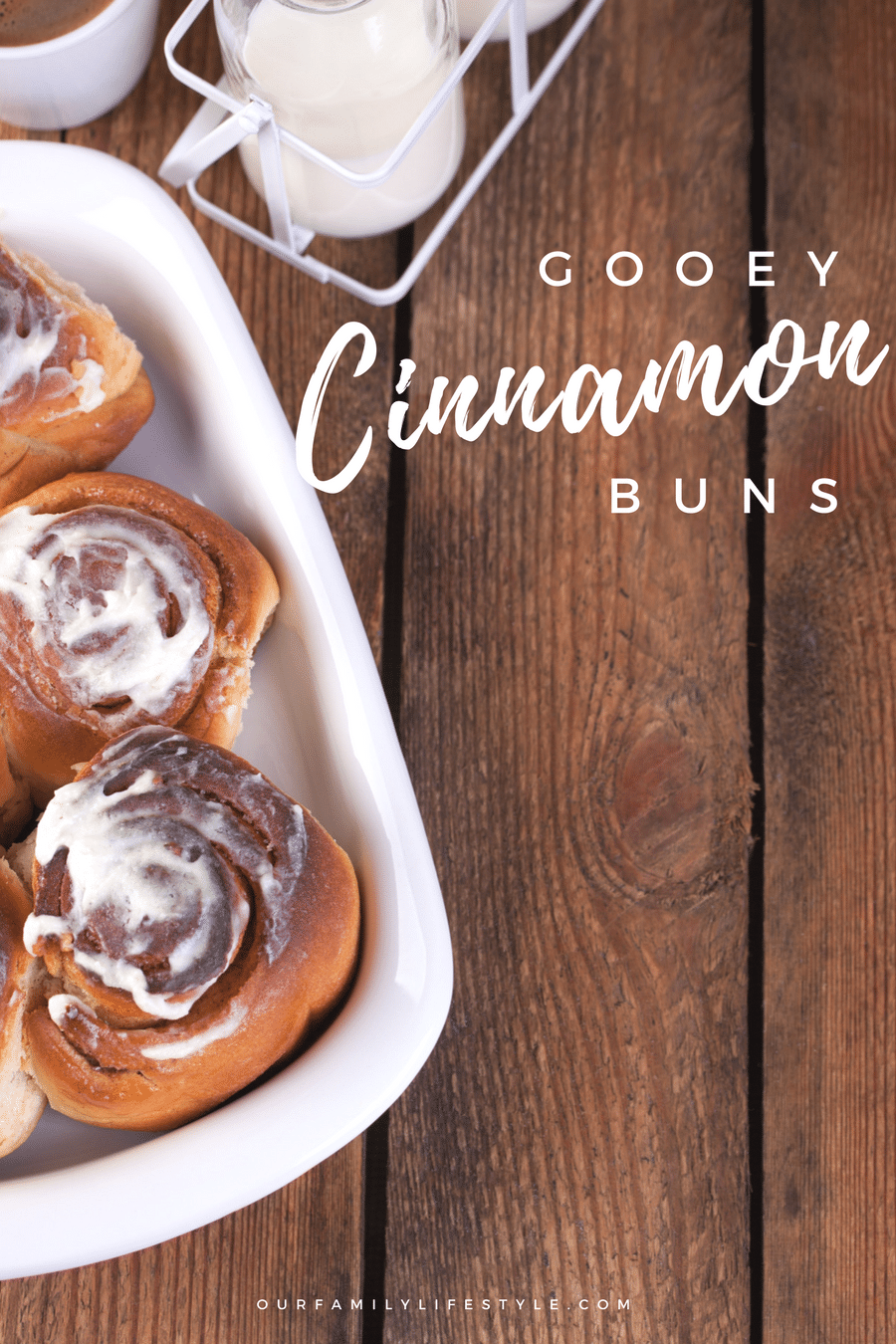 Gooey Cinnamon Buns recipe