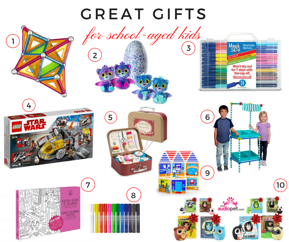 Great Gifts for School-Aged Kids
