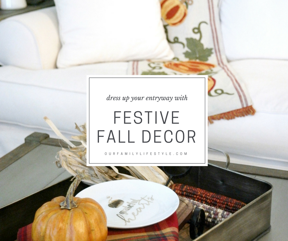 Dress Up Your Entryway with Festive Fall Decor