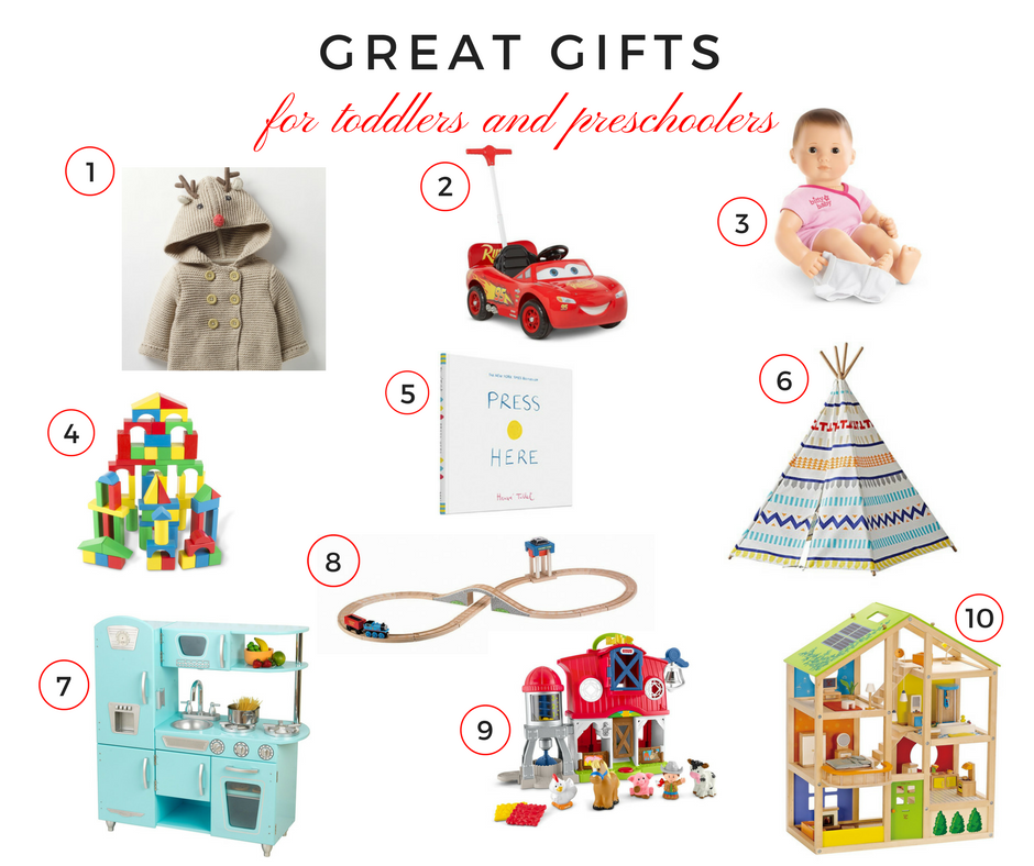 Holiday Gift Guide: Great Gifts for Toddlers and Preschoolers