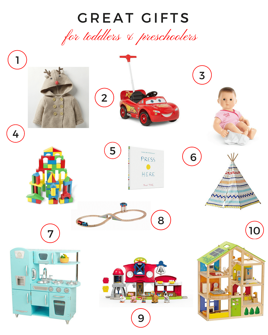 great gifts for toddlers and preschoolers