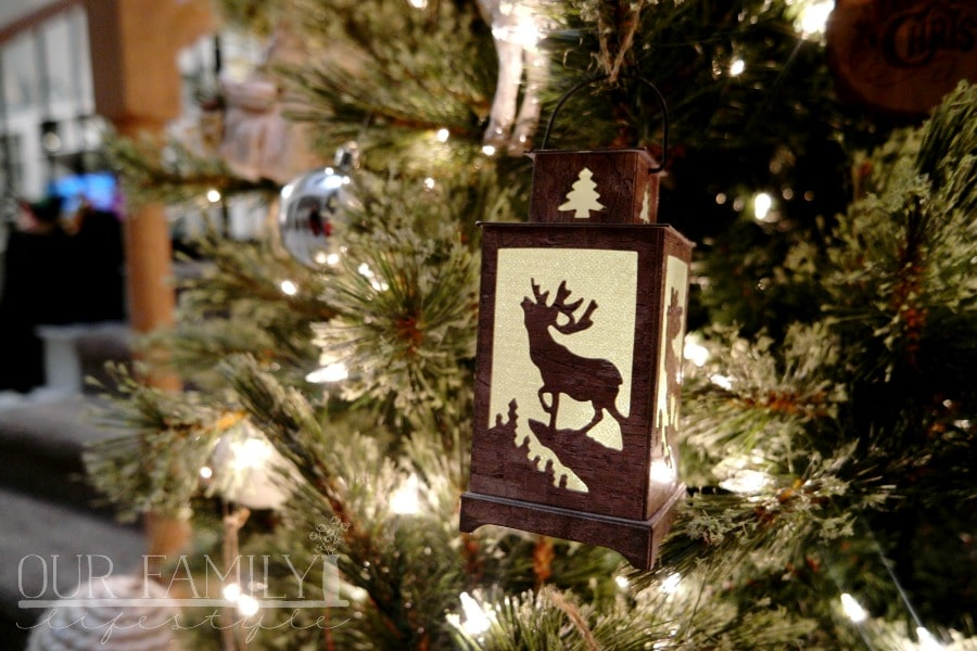 Deer Light-Up Lantern