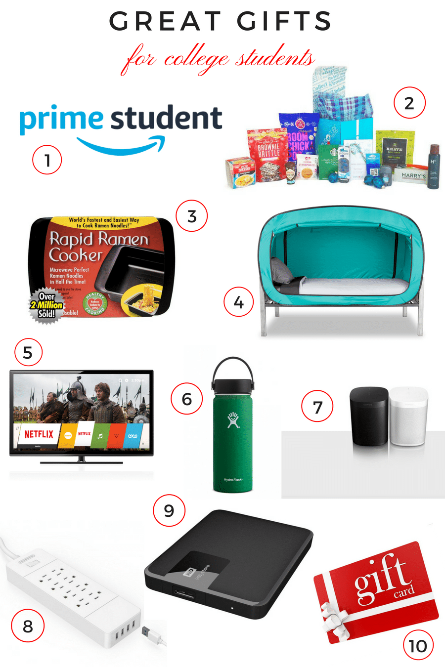 Great Gifts for College Students