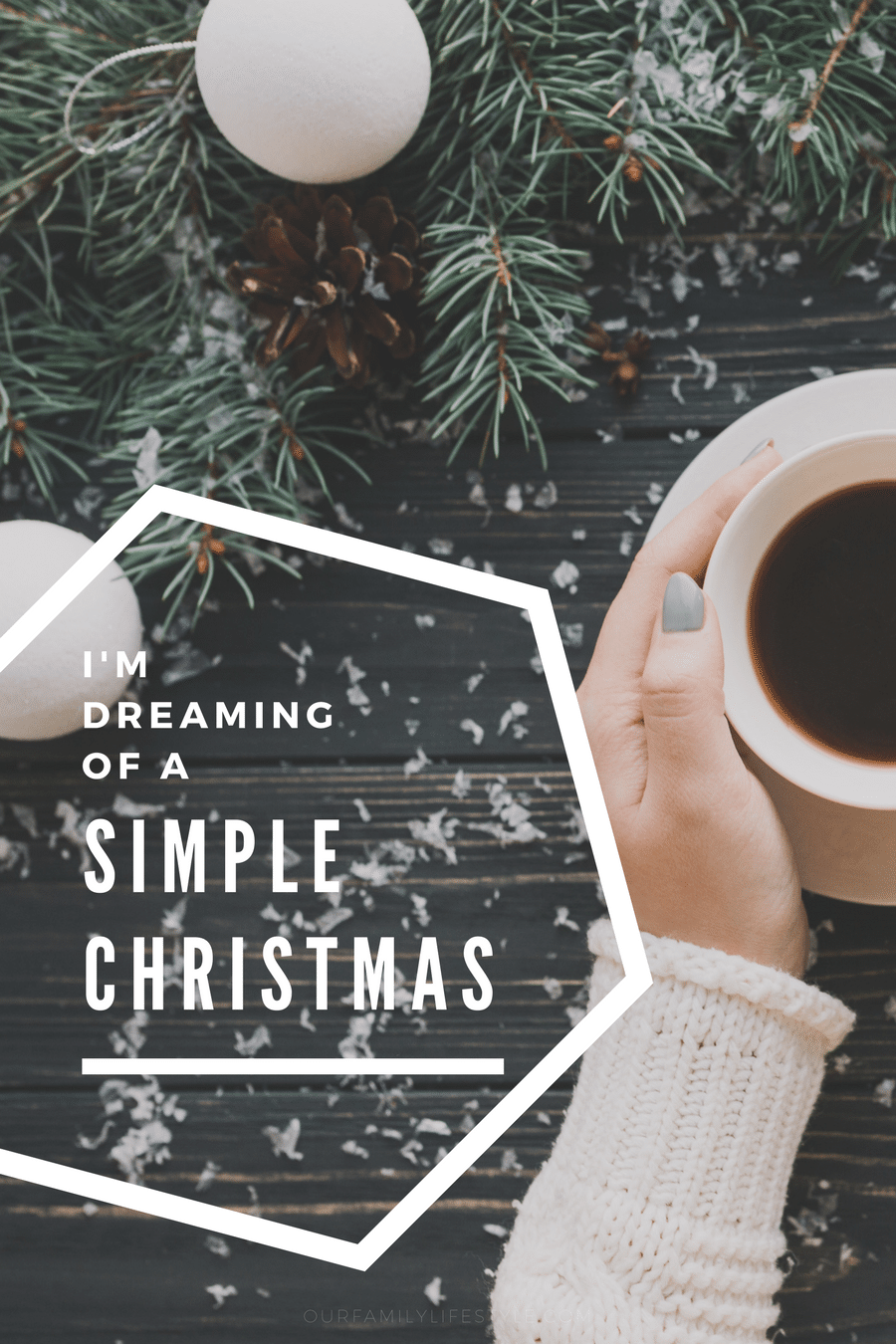 I'm dreaming of a simple Christmas