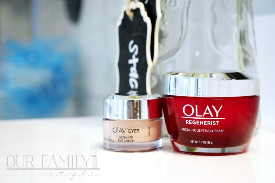 Olay Eyes Ultimate Eye Cream and Olay Regenerist Micro Sculpting Cream