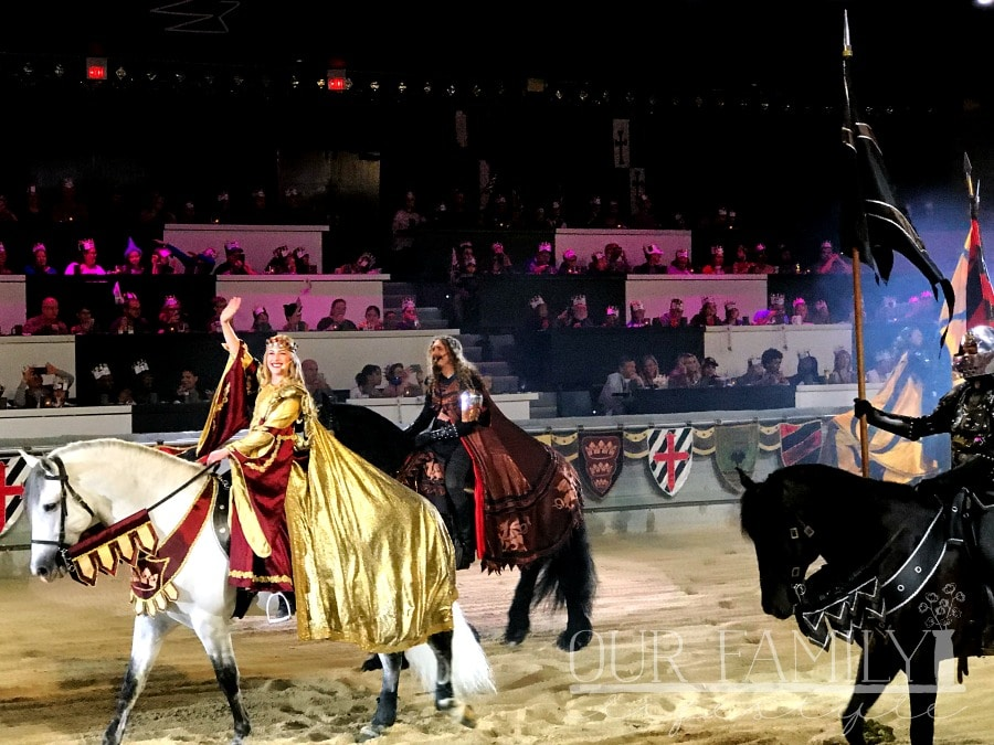 Queen Takes The Reigns at Medieval Times Castles