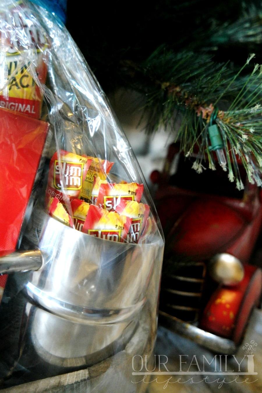 Slim Jim snack sticks stocking