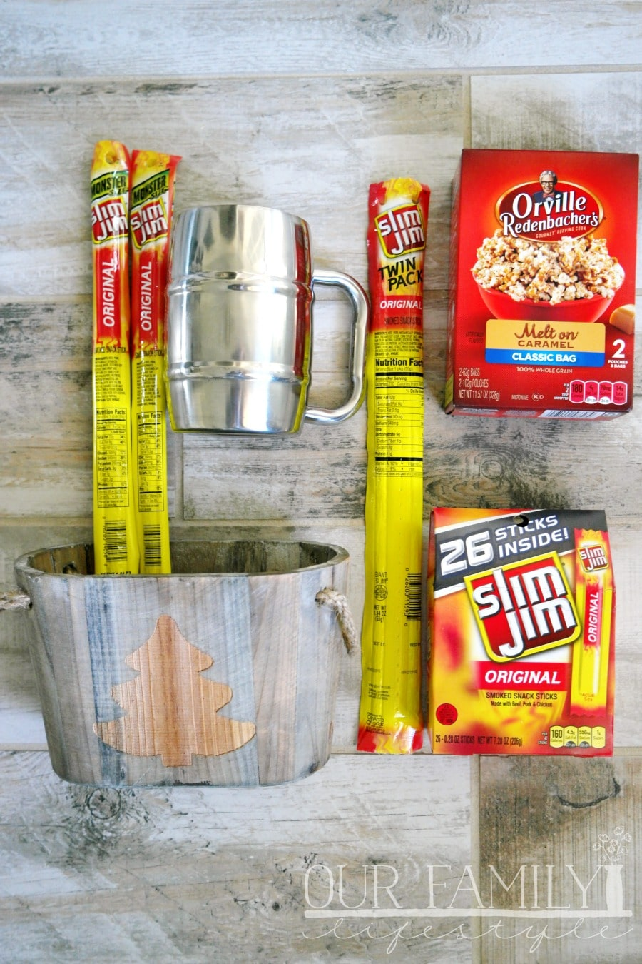 Think Outside the Stocking with Slim Jim