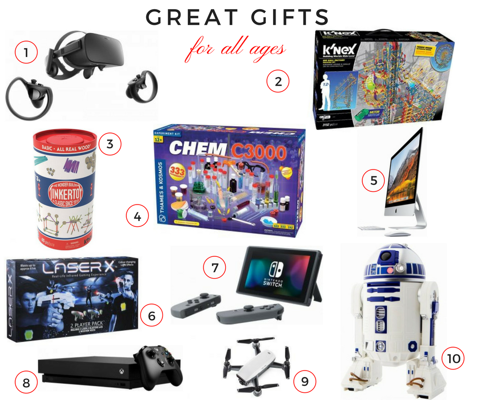 Holiday Gift Guide: Great Gifts for All Ages