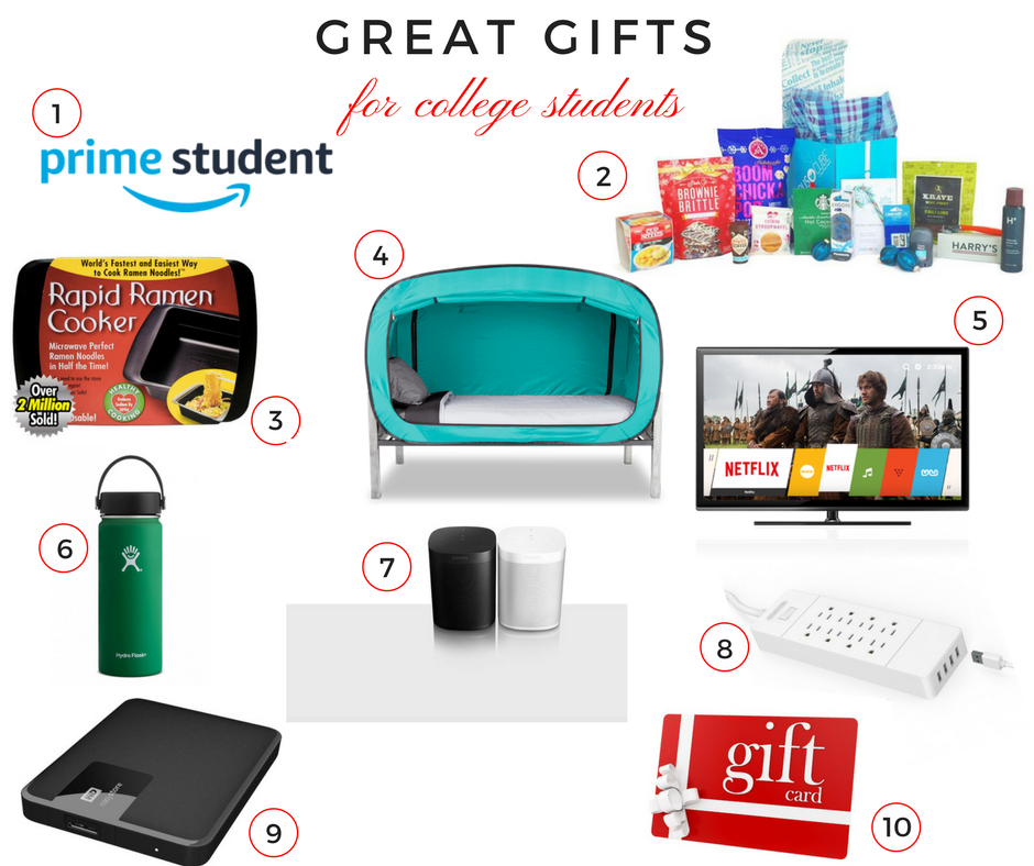 holiday gift guide great gifts for college students