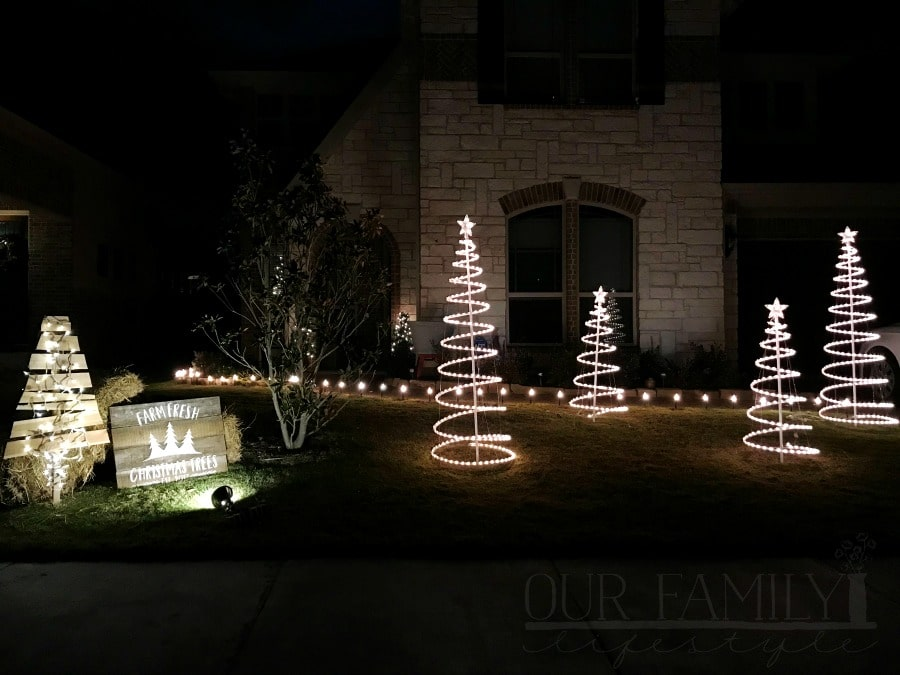outdoor Christmas lights 2017