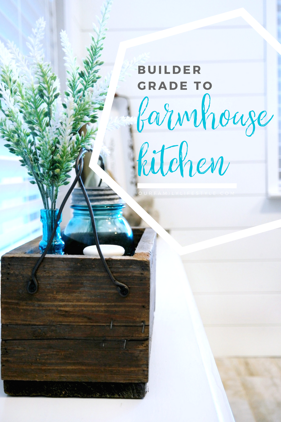 Going from Builder Grade to Farmhouse Kitchen with The Home Depot