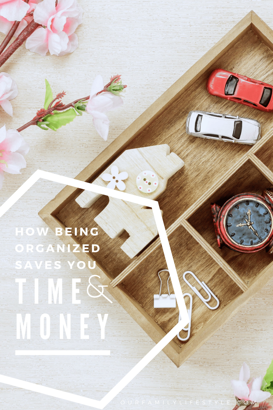 How Being Organized Saves You Time and Money