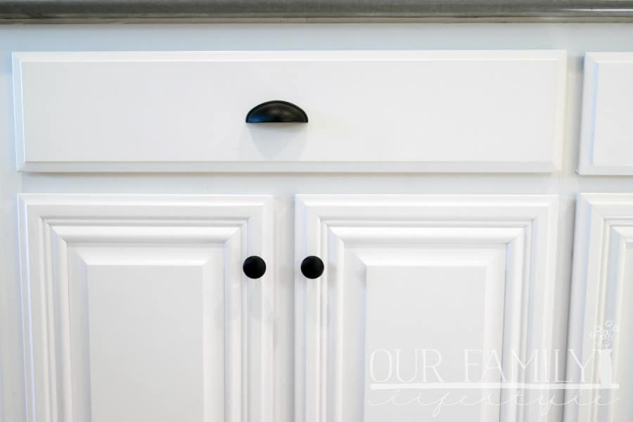 cabinet knobs and drawer pulls from The Home Depot