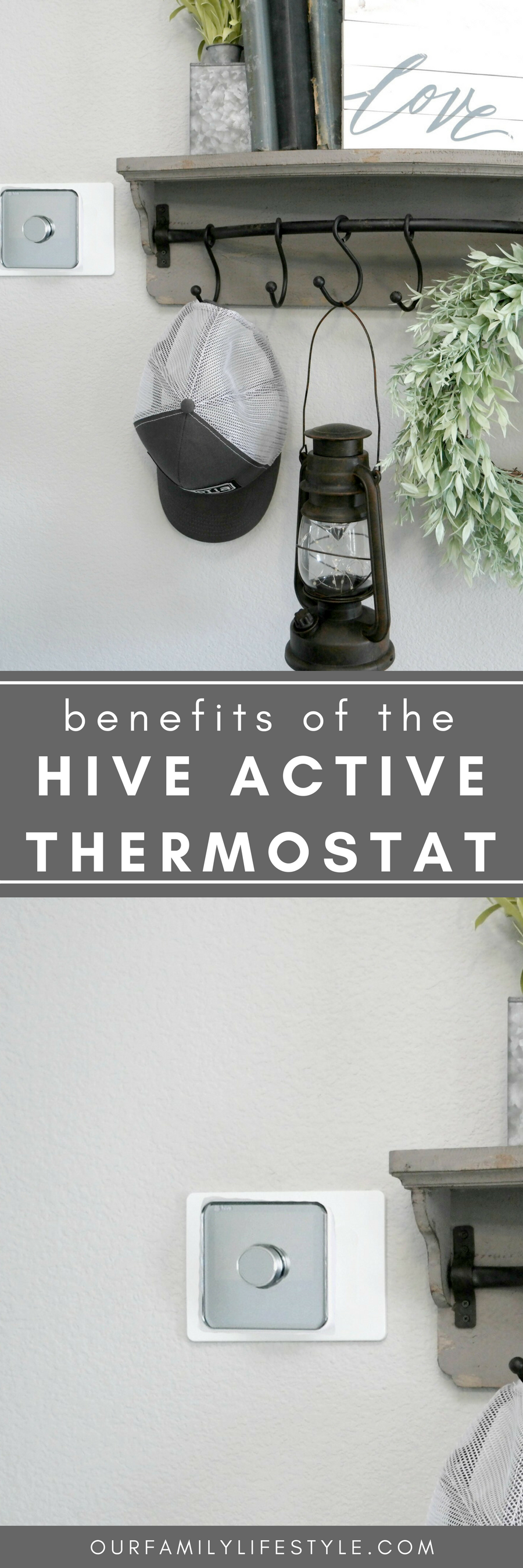 Programmable thermostats, such as theHive Active Thermostat, offer energy-efficient benefits to make heating and cooling our home, from anywhere, easier.