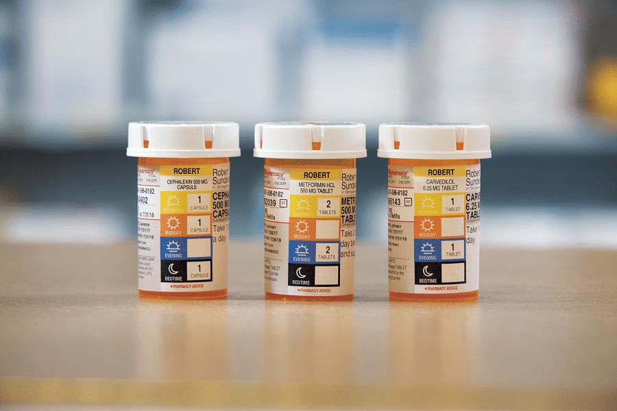 CVS Pharmacy ScriptPath Prescription Bottles