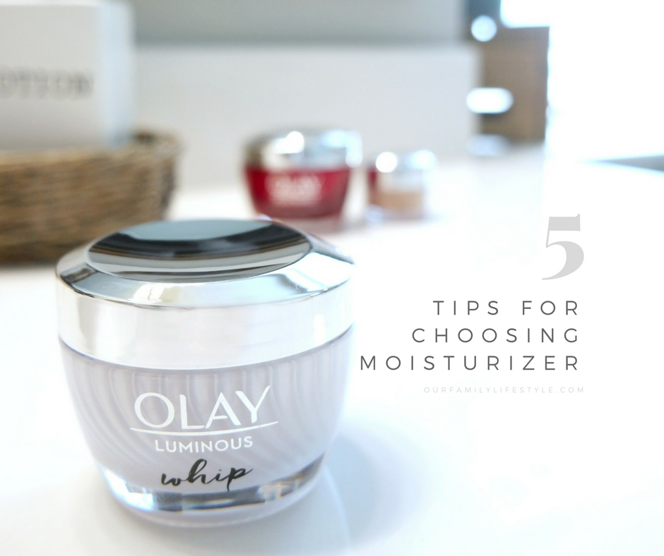 5 Tips for Choosing the Right Moisturizer