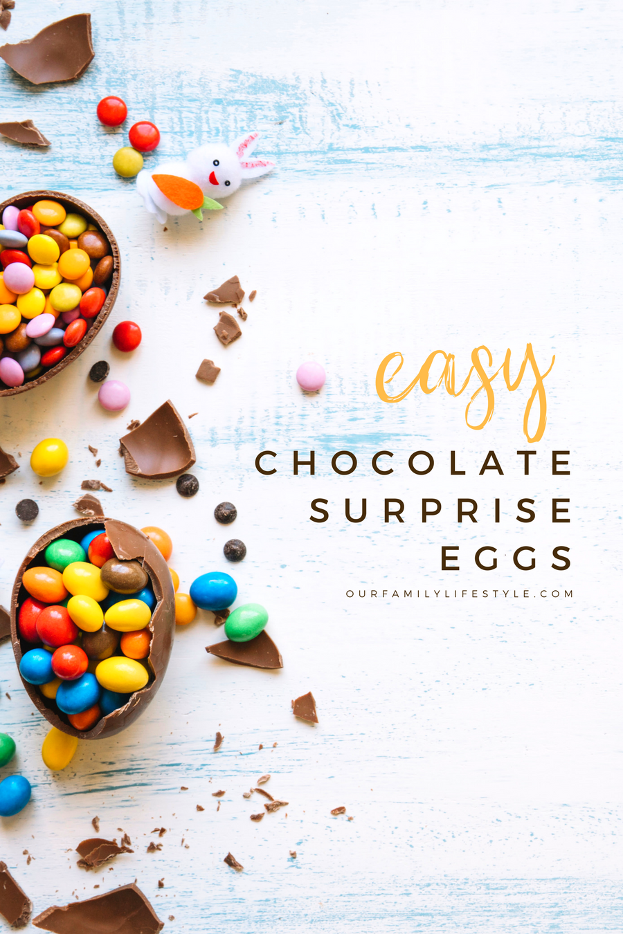 Easy Chocolate Surprise Eggs