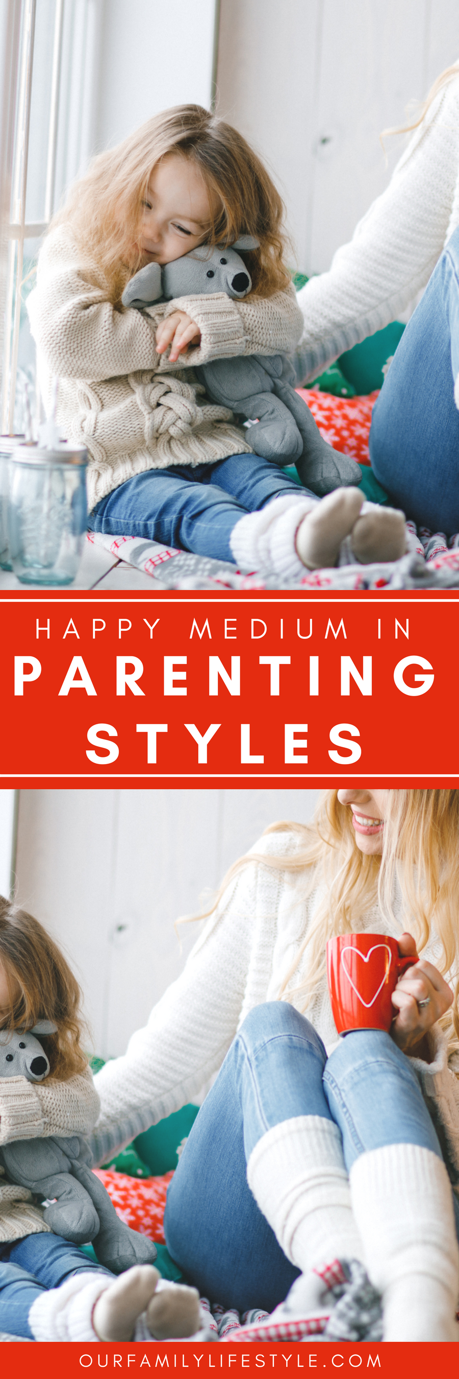 Through various studies and plenty of research,psychologists came up with four parenting styles. Each one representing adimension of parenting behavior. How do you find the happy medium in parenting?