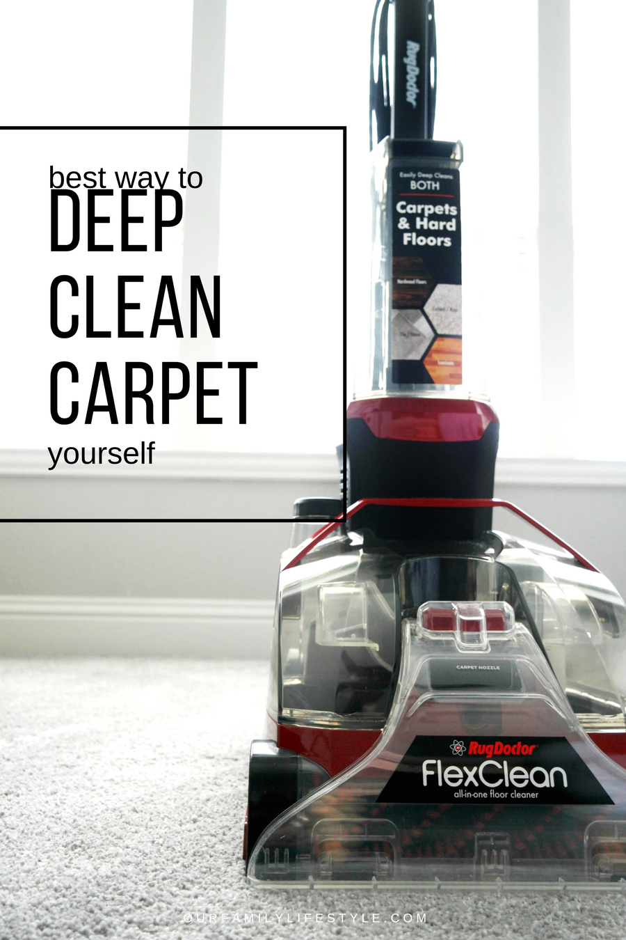 Best Way to Deep Clean Carpet Yourself